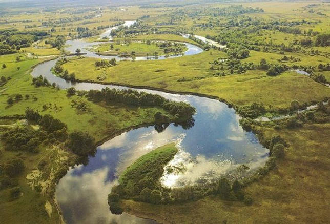 Повороты реки